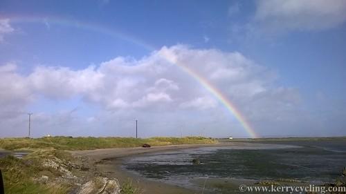 Fenit Island rainbow