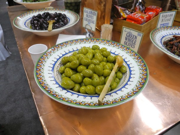 Winter Fancy Food Show Olives