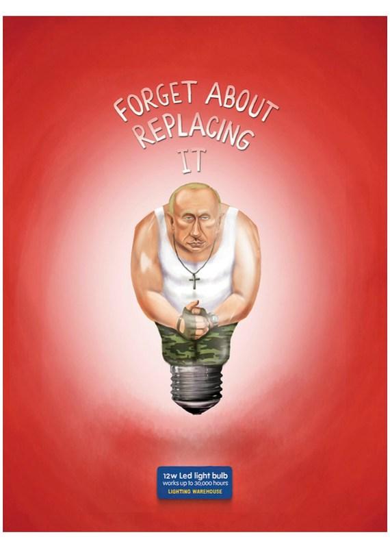 Lighting Warehouse Led Light Bulb - Vladimir Putin