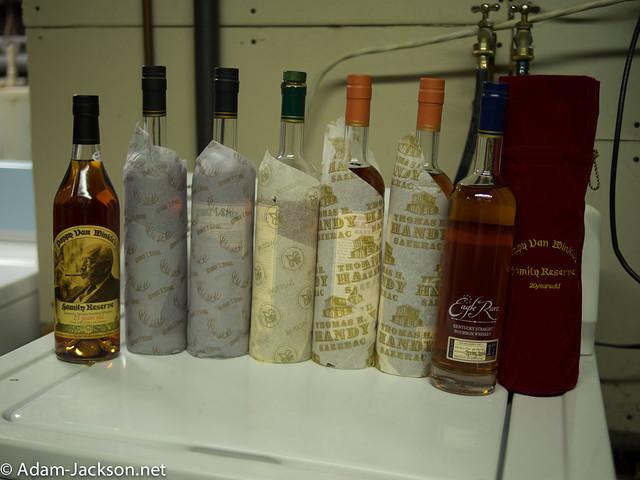 2014 Bourbon Release Haul