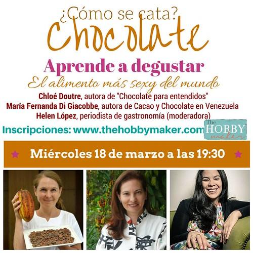 Como se cata chocolate Madrid