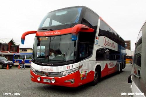 Queilen Bus - Castro - Marcopolo Paradiso 1800 DD G7 / Mercedes Benz (FXZX17)