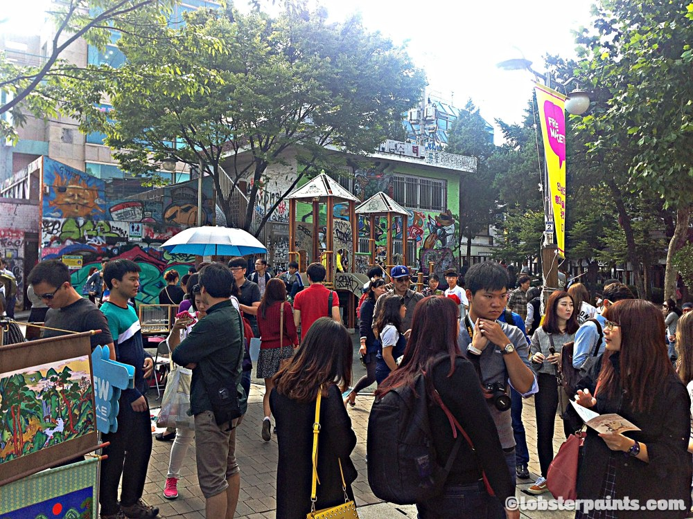 4 Oct 2014: Hongdae Free Market @ Hongdae Playground | Seoul, South Korea