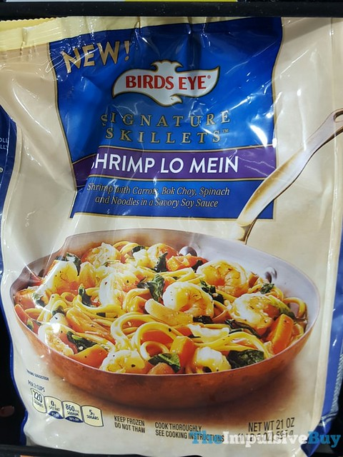Birds Eye Shrimp Lo Mein Signature Skillets