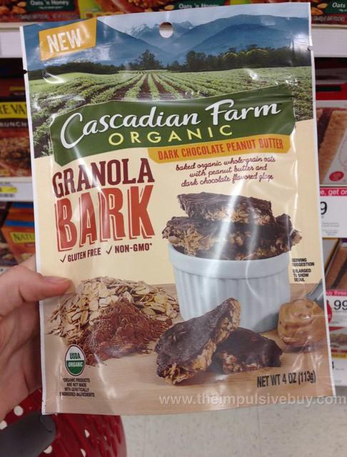 Cascadian Farm Organic Dark Chocolate Peanut Butter Granola Bark