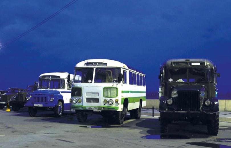 КАвЗ-685, ПАЗ-3201 и «Уралец»