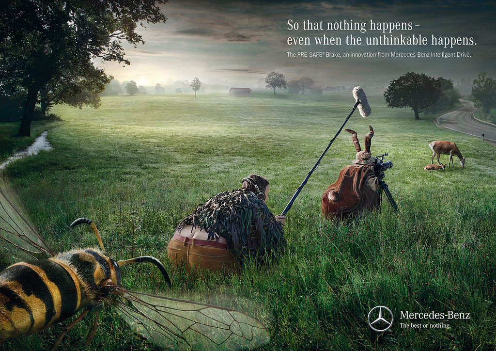 Mercedes-Benz Intelligent Drive Pre-Safe Brake - Bee