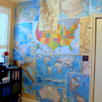 Map wall 2