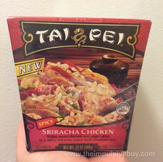 Tai Pei Spicy Sriracha Chicken