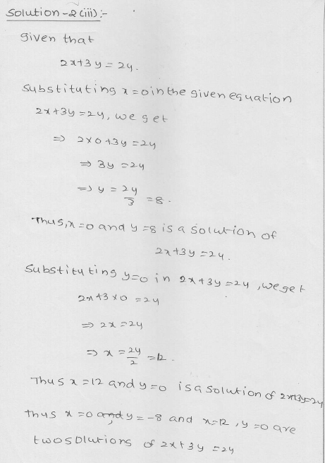 RD Sharma Class 9 Solutions Chapter 13 Linear Equations in Two Variables 27