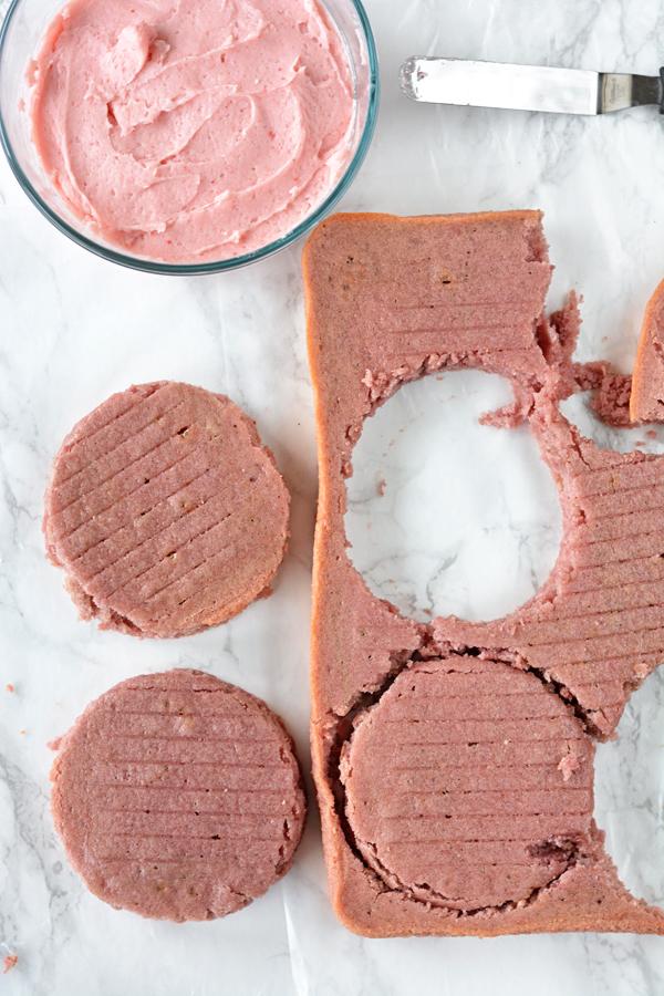 Strawberry Cake for Two - bethcakes.com