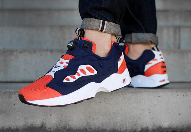 Reebok Instapump Fury Road (Navy/Orange)