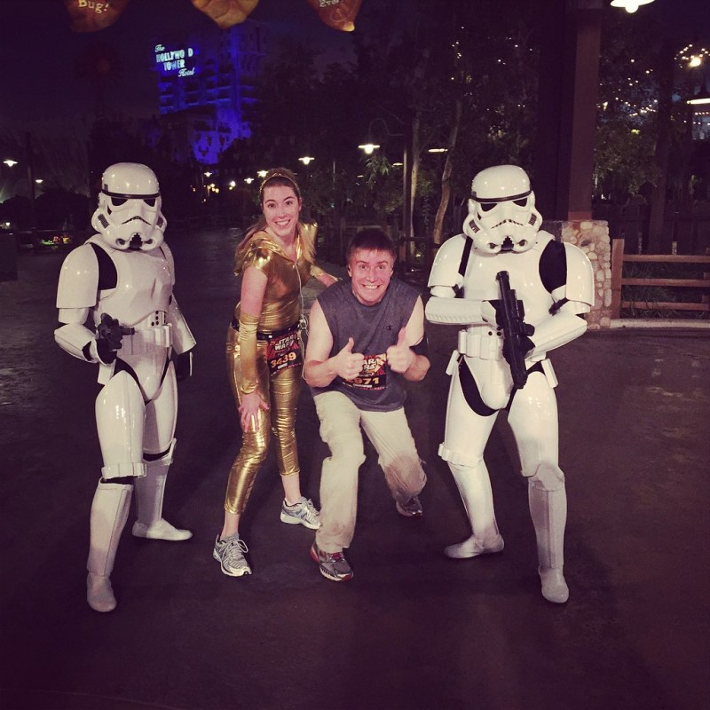 #StarWarsHalf #rundisney weekend