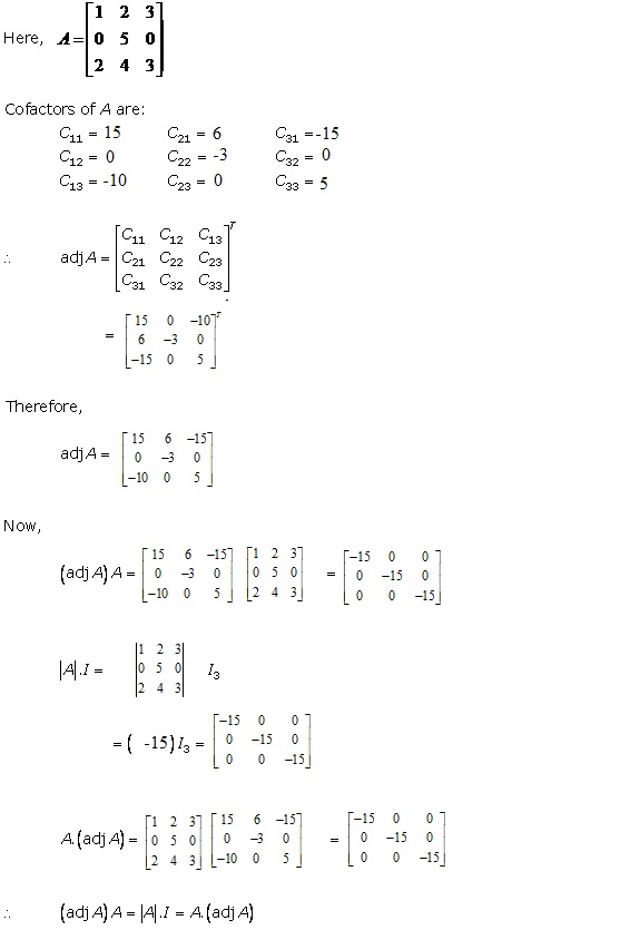 RD Sharma Class 12 Solutions Chapter 7 Adjoint and Inverse of Matrix Ex 7.1 Q2-v