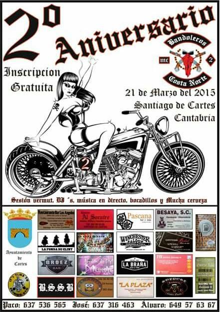 2º Aniversario Bandoleros Costa Norte MC