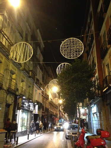 Malasaña, Navidad 2014. Madrid