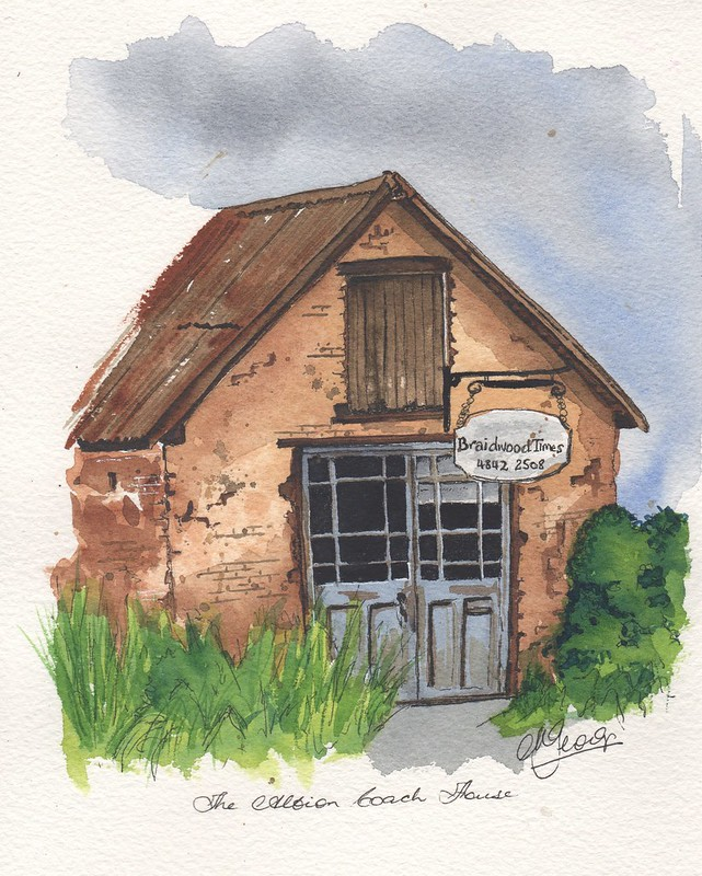 The Albion Coach House - Braidwood