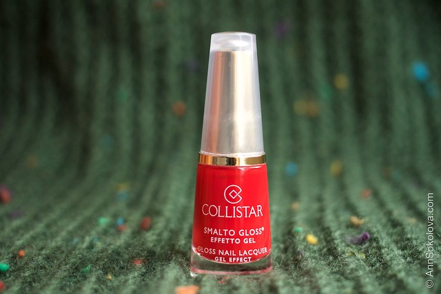 01 Collistar Gloss Nail Lacquer #580 Rosso Sofia
