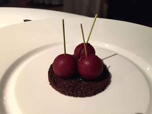 Dessert at Osteria Francescana