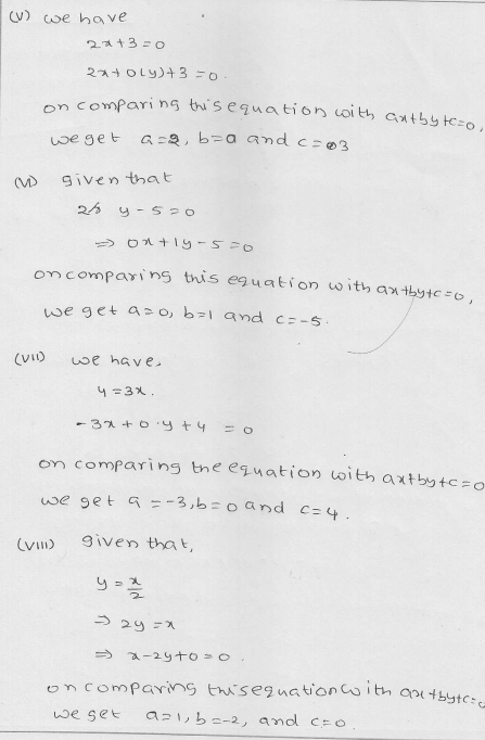 RD Sharma Class 9 Solutions Chapter 13 Linear Equations in Two Variables 2.