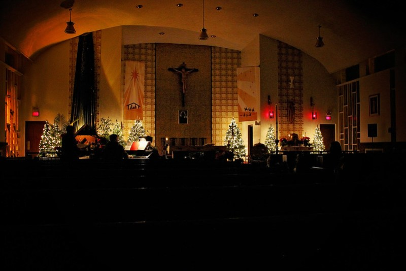 The Perfect Polish Christmas Eve - Mass at St. Mary Our Lady Queen of Poland Church, Thunder Bay | Alex Inspired