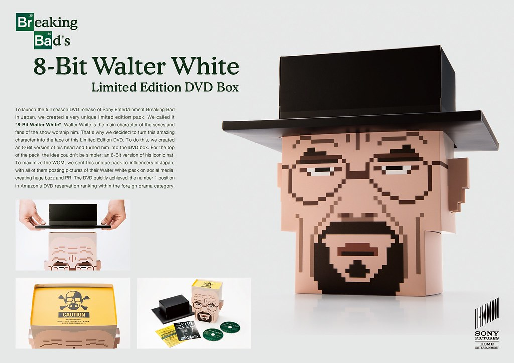 Sony Pictures Home Entertainment : Breaking Bad - 8-Bit Walter White