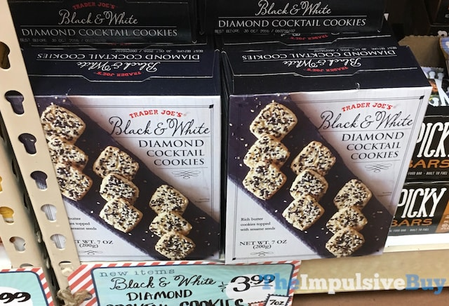Trader Joe's Black & White Diamond Cocktail Cookies