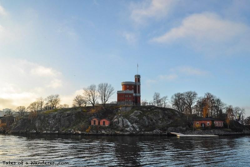 STOCKHOLM - Kastellholmen / Kastellet