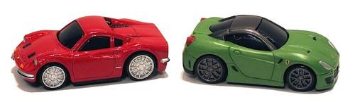 Burago Dino 206 & Ferrari FF