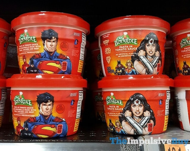 Chef Boyardee Justice League Microwaveable Bowls