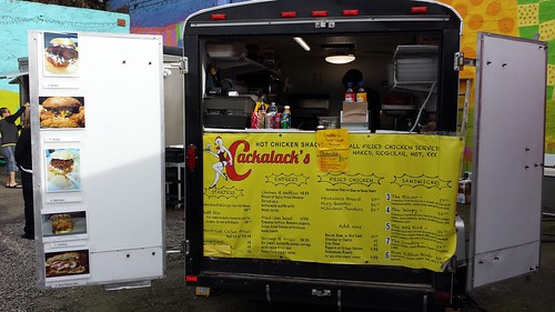 fried chicken food cart portland