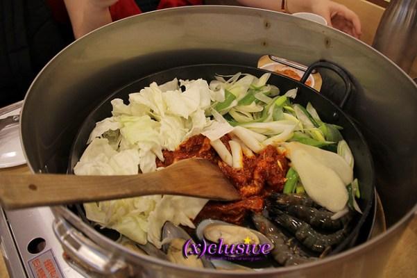 Seafood and Chicken galbi Yoogane Singapore