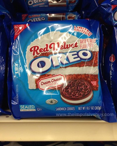 Nabisco Limited Edition Red Velvet Oreo Cookies