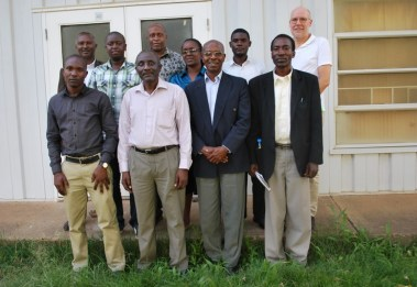 The Babati R4D platform (JUMBA) leadership committee members (Photo credit: IITA/Gloriana Ndibalema)