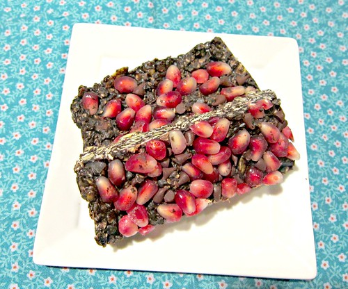 Pomegranate Protein Bars 2