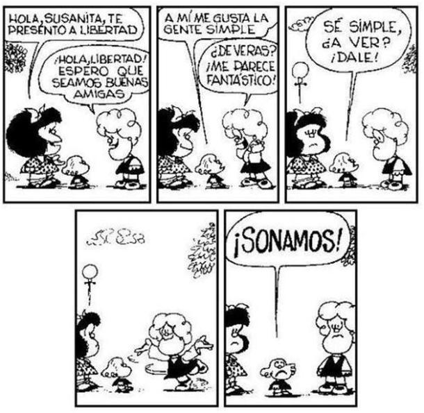 Mafalda - Libertad - Gente Simple