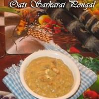Oats-Sarkarai-pongal