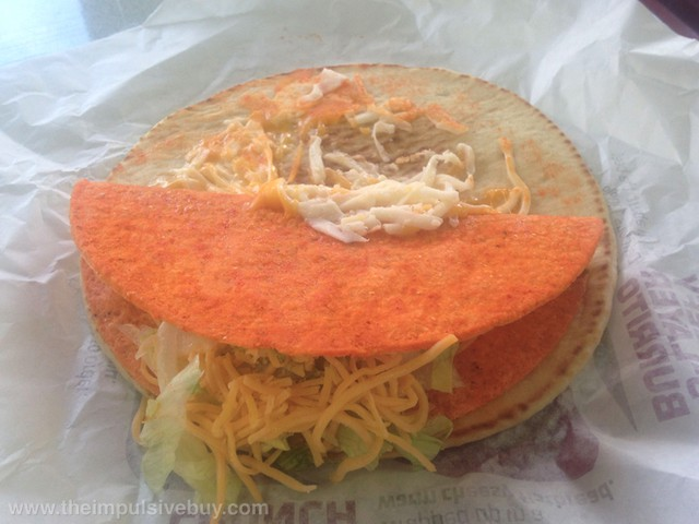 Doritos Nacho Cheese Cheesy Gordita Crunch 2