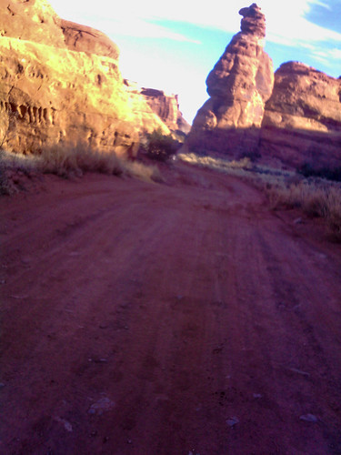 Moab Red Hot early miles