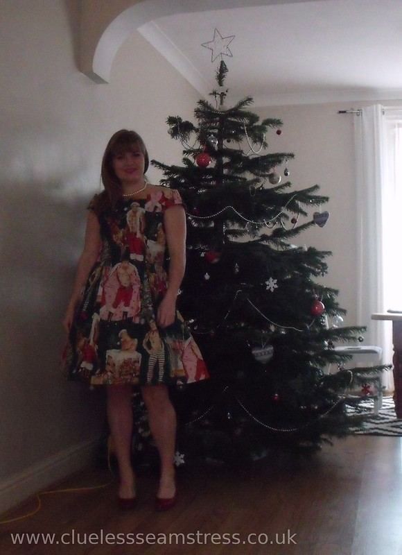 Christmas Hunks dress
