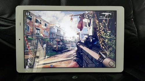 CSC wisebook AU891T เล่นเกมแบบ Mobile device ได้สบายๆ อยู่