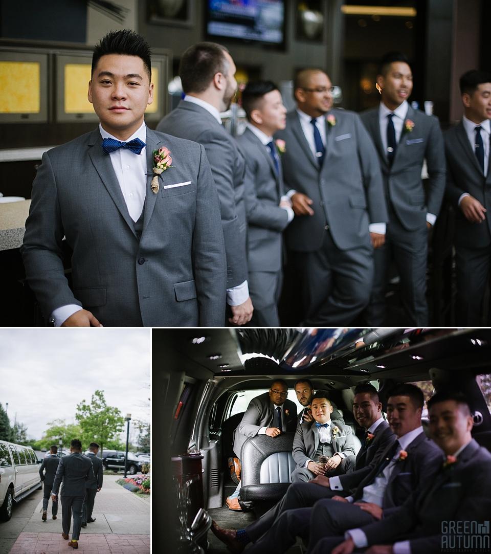 Fall Bespoke Toronto Markham Hilton Suites Wedding Photography
