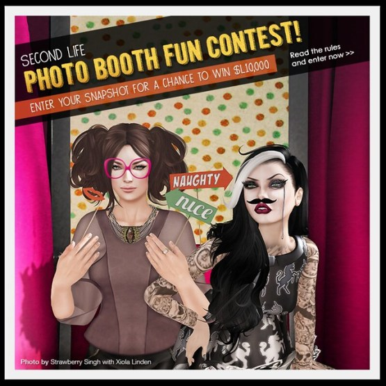 Linden Lab's Photo Booth Contest