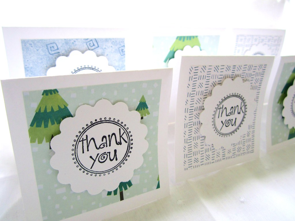 Hand-stamped Cards