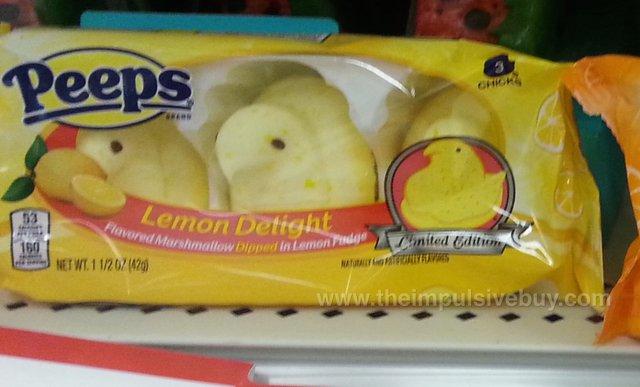 Peeps Limited Edition Lemon Delight
