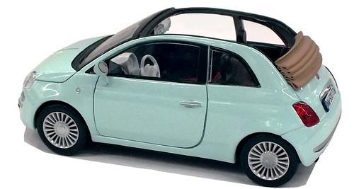 Motormax Fiat 500 cabrio