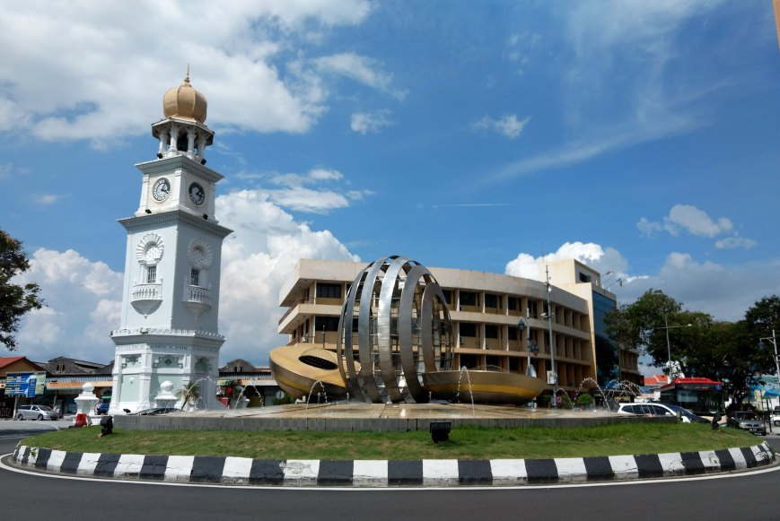 The watch-tower of George Town, Penang
