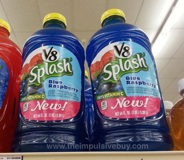 V8 Splash Blue Raspberry