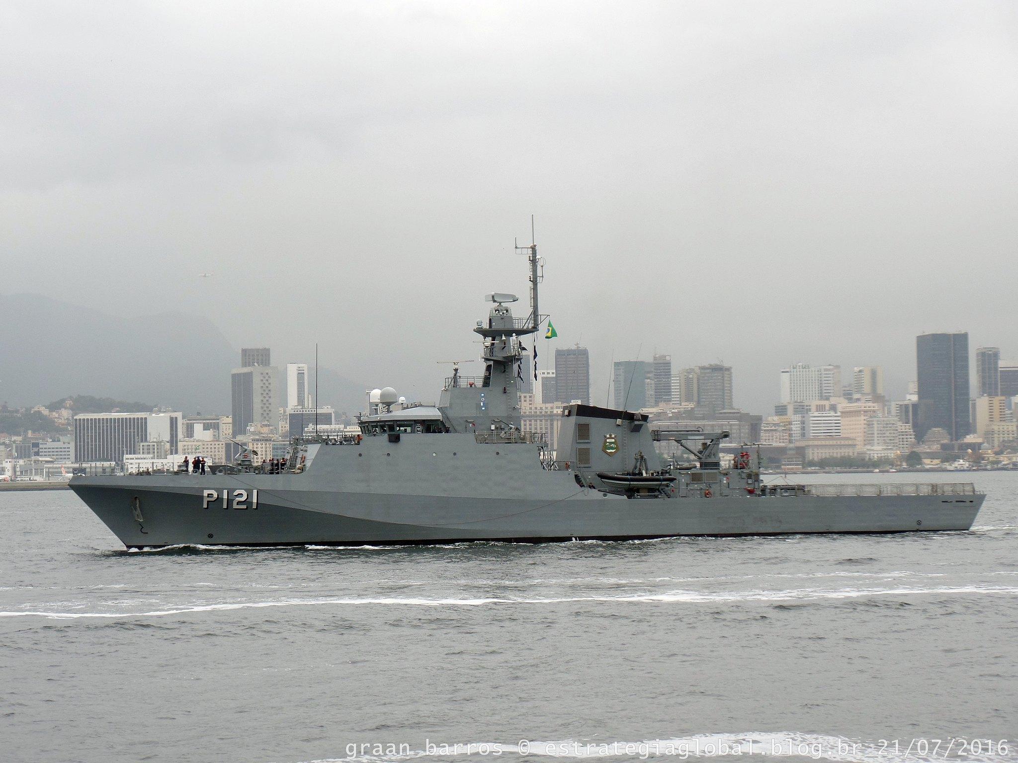 """Navio Patrulha Oceânico Classe Amazonas P-121 """"Apa"""""""