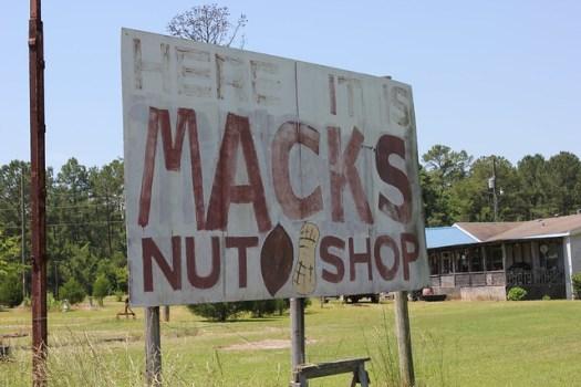Mack's Nut Shop, Grady AL